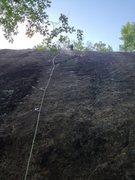 Rock Climbing Photo: At the anchors of Bear 5.9-