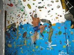 Rock Climbing Photo: new lighting combination for camera night setting ...