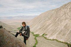 Rock Climbing Photo: pine creek w/ friends