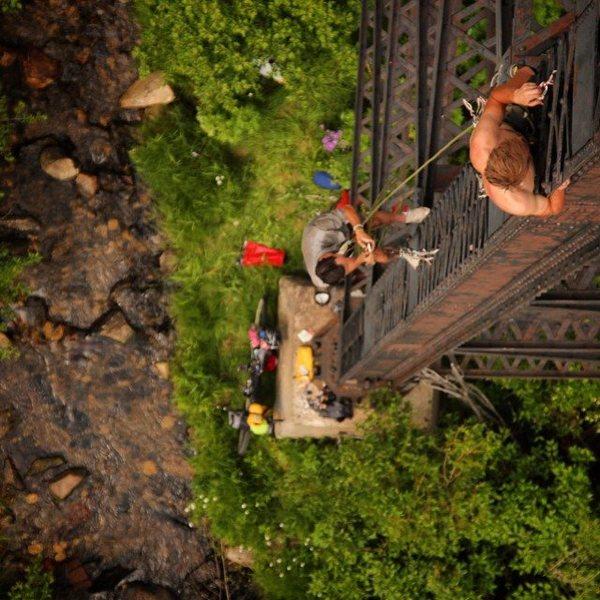 Rock Climbing Photo: butte, montana w/ friends