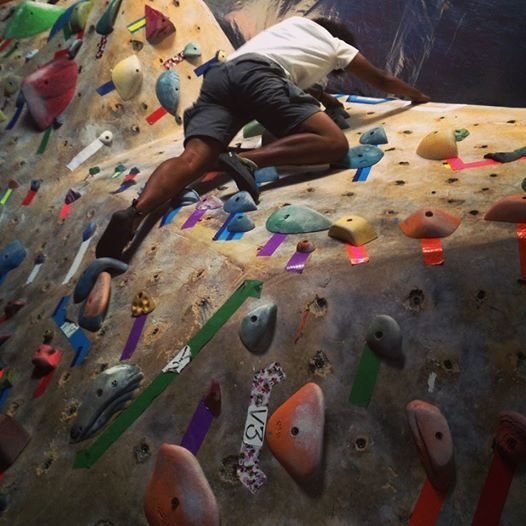 Rock Climbing Photo: GYM BOULDERING V3