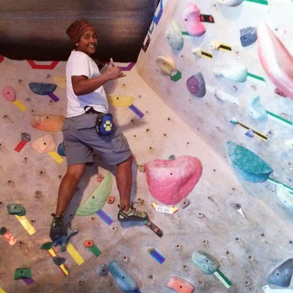 Rock Climbing Photo: First time ever bouldering at a gym