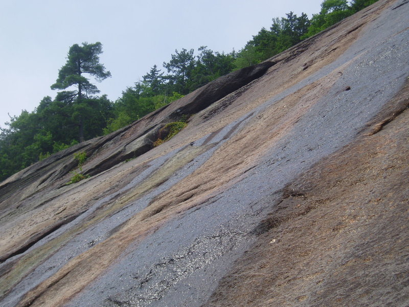 Rock Climbing Photo: The 40 ft Corner of Coloring Book from near the to...