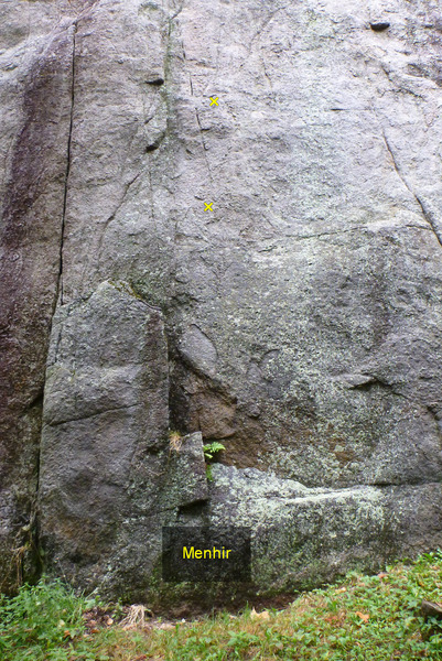 Rock Climbing Photo: Menhir Start