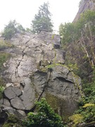 Rock Climbing Photo: Mean Mug Overlay