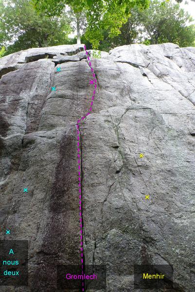 Rock Climbing Photo: Gromlech