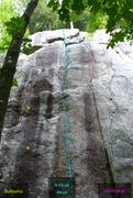 Rock Climbing Photo: A nous deux