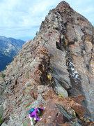Rock Climbing Photo: Cottonwood Traverse