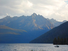 Rock Climbing Photo: The Sawtooth Range