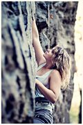 Rock Climbing Photo: Climbing Miranda Rayne (5.9) @ the Shire, PMRP, RR...