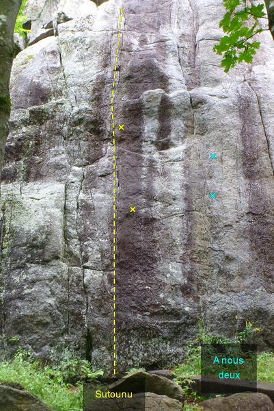 Rock Climbing Photo: Sutounu start