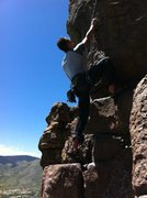 Rock Climbing Photo: Enjoying the day at North Table