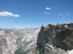 Rock Climbing Photo: Half Dome, Yosemite CA