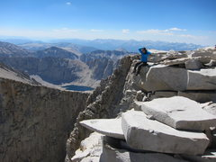 Rock Climbing Photo: Top of Whitney, Sierras, CA