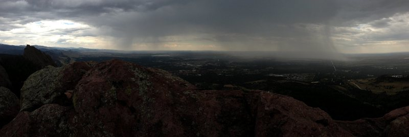 Storm from the 3rd summit.