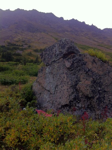 Rock Climbing Photo: warm-up
