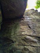 Rock Climbing Photo: The Improbable Chockstone