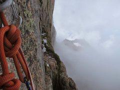 Rock Climbing Photo: Yellow Wall, Diamond