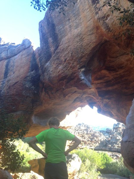 Rock Climbing Photo: Sex Etiquette goes from the bottom right to top le...