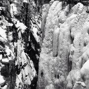 Rock Climbing Photo: Ouray Ice, the School Yard