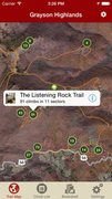 Rock Climbing Photo: GPS turn-by-turn trail mapping