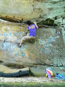 Rock Climbing Photo: Fun, easy warmup!