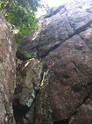 Rock Climbing Photo: Snake bite
