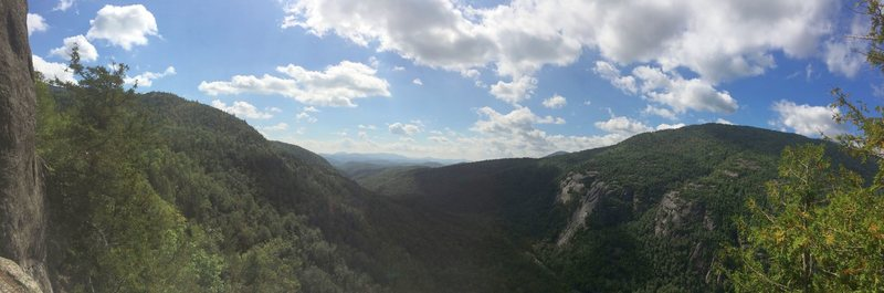 Panoramic from Upper Washbowl