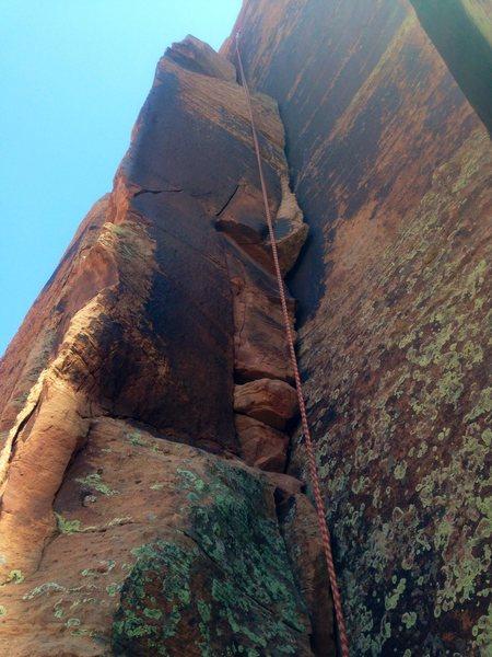 Fun climb! Wish it was longer...