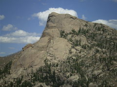 Rock Climbing Photo: Sheep Rock Massif comprises Helen's Dome, Baby Hel...