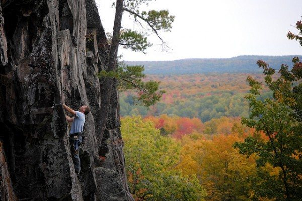 Rock Climbing Photo: Silver Mountain