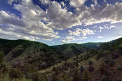Rock Climbing Photo: Clear Creek Canyon from Mayhem Gulch.