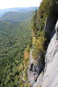 "Rock Climbing Photo: L-P Tessier ""3e pitch"""