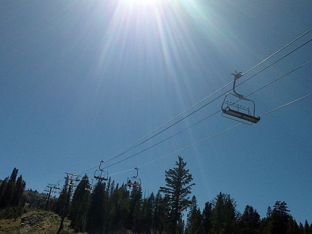 Summer at Mammoth Mountain, Mammoth Lakes Area