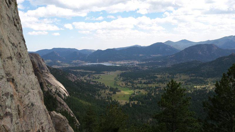 Rock Climbing Photo: Lumpy Ridge. Kor's Flake. Sept 1st 2014. With Mike...