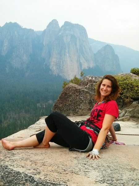 Rock Climbing Photo: Top of Nutcracker