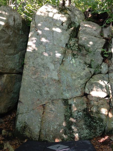 Rock Climbing Photo: Nice as a warm-up.