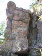 Rock Climbing Photo: Secteur la Corne (haut)