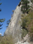 Rock Climbing Photo: west face right side