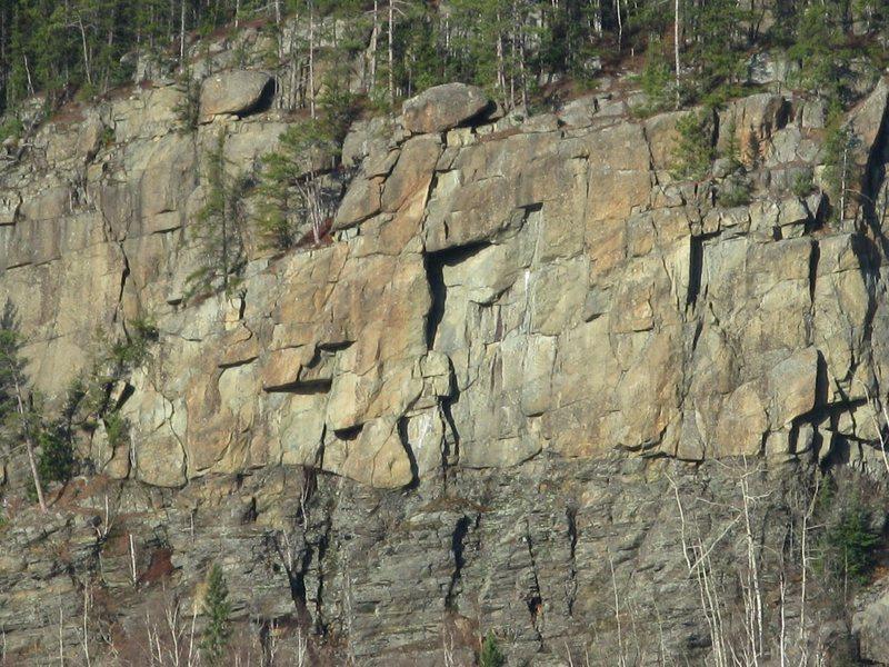 Rock Climbing Photo: Hommage au Roy, Gauche