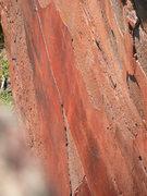 Rock Climbing Photo: The amazing patina sheet which unfortunately turne...