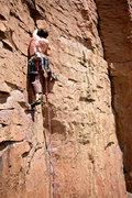 Rock Climbing Photo: Taos Lightning