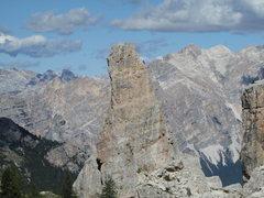 Rock Climbing Photo: Torre Inglesi, in profile.