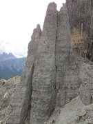 Rock Climbing Photo: Torree Seconda, made up by Torre Lusy, Torre Baran...