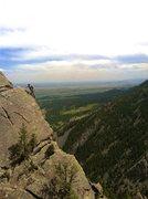 Rock Climbing Photo: Aaron Ramras free solo on Future Primitive.