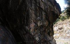 Rock Climbing Photo: A pre-send go.