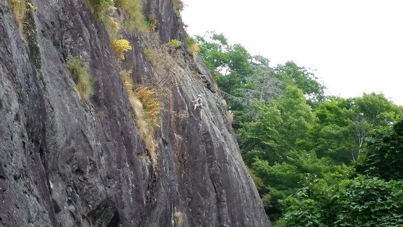 Rock Climbing Photo: Snakes Den