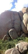 Rock Climbing Photo: The Suzuki Flare! An excellent line that has only ...