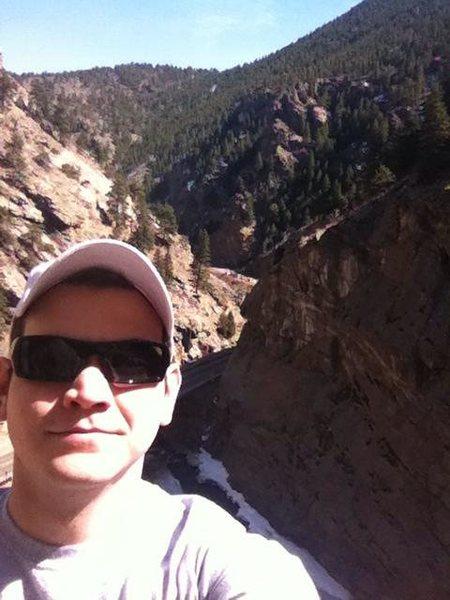 Climbing in CO on spring break