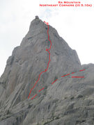 Rock Climbing Photo: Northeast Corners; Ra Mountain.